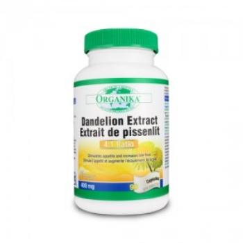 Dandelion (Papadie) Extract - Bila, ficat, splina - 90 pastile / Organika Health Products