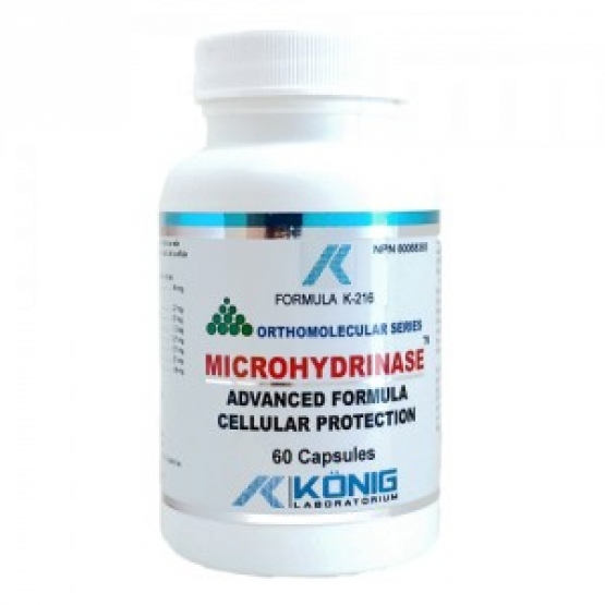 Microhidrinaza (Microhydrinase) – alcalinizant celular