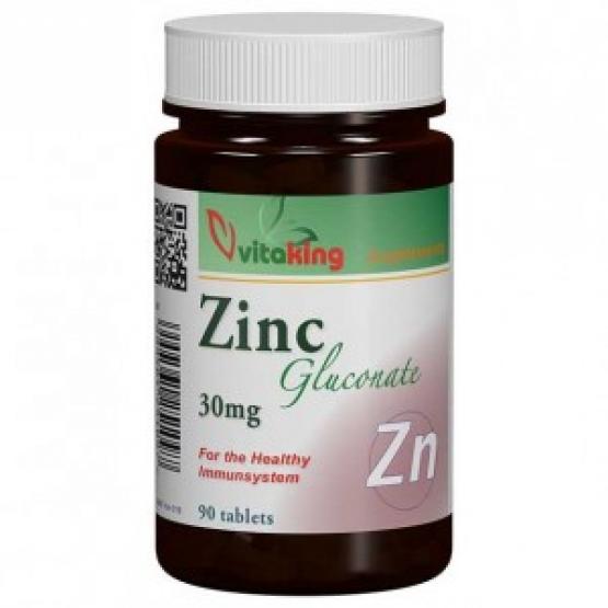Gluconat de Zinc 30MG - 90 tablete