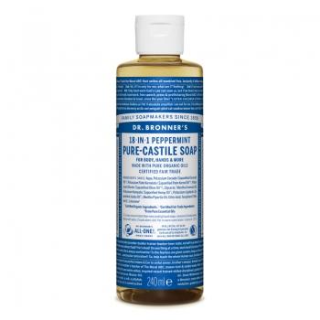 Sapun lichid de Castilia 18-in-1 Menta, 240 ml
