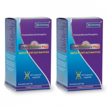 GlucoNature Plus - 60 cps - Heshoutang