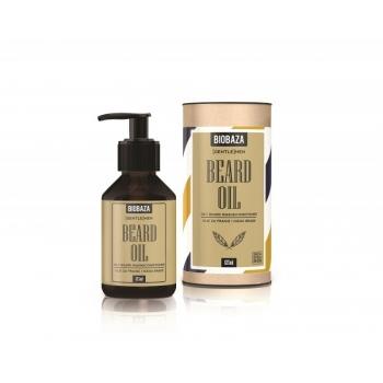 Ulei natural pentru barba, 125 ml - BIOBAZA