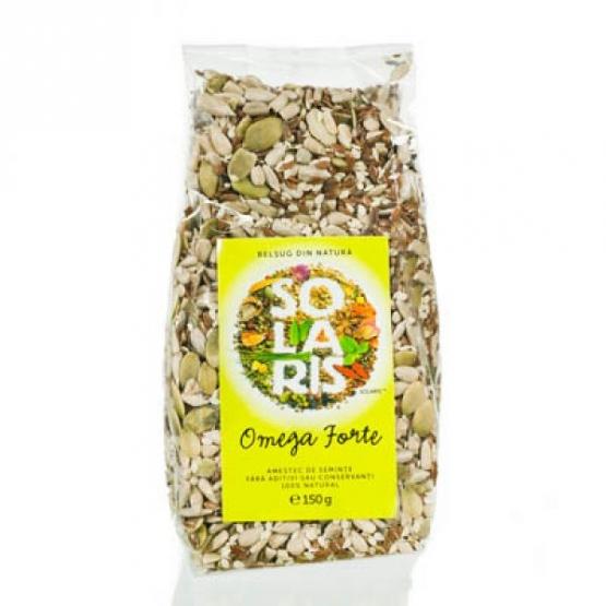 Amestec de seminte Omega forte 150 g / Solaris