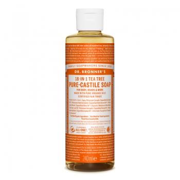 Sapun lichid de Castilia 18-in-1 Arbore de Ceai, 240 ml