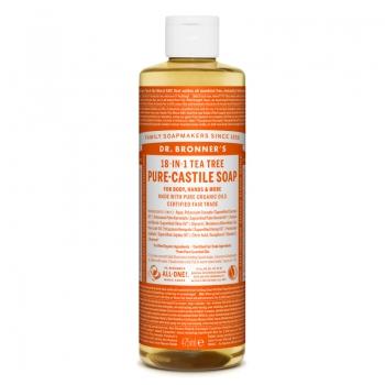 Sapun lichid de Castilia 18-in-1 Arbore de Ceai, 475 ml