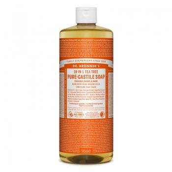 Sapun lichid de Castilia 18-in-1 Arbore de Ceai, 945 ml