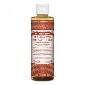 Sapun lichid de Castilia 18-in-1 Eucalipt, 240 ml