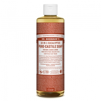 Sapun lichid de Castilia 18-in-1 Eucalipt, 475 ml