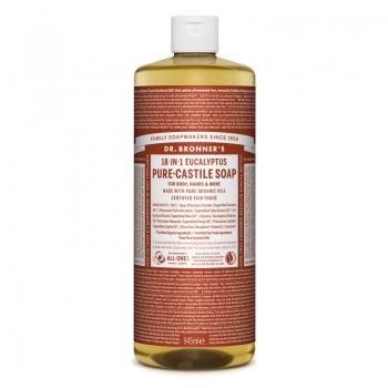 Sapun lichid de Castilia 18-in-1 Eucalipt, 945 ml