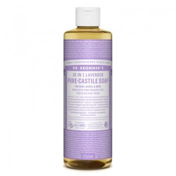 Sapun lichid de Castilia 18-in-1 Lavanda, 475 ml