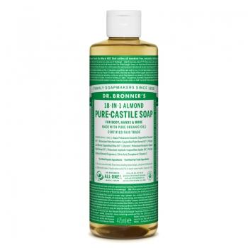 Sapun lichid de Castilia 18-in-1 Migdale, 475 ml