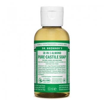 Sapun lichid de Castilia 18-in-1 Migdale, 60 ml