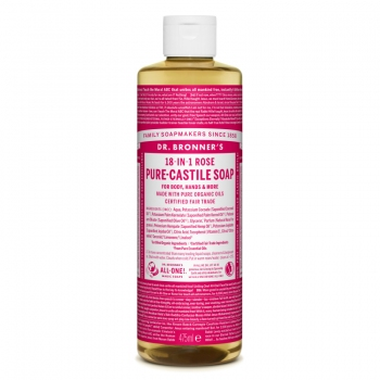 Sapun lichid de Castilia 18-in-1 Trandafiri, 475 ml