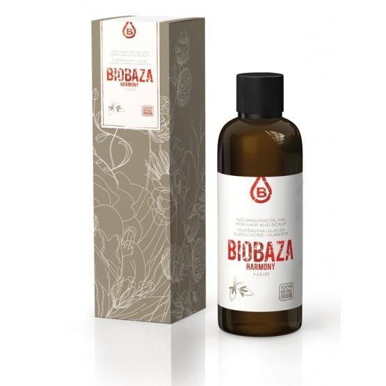 Ulei hranitor, tratament pentru par si scalp, 100 ml - BIOBAZA