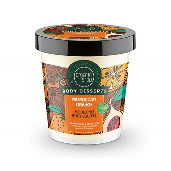 Sufleu delicios pentru corp Moroccan Orange, 450 ml - Organic Shop Body Desserts
