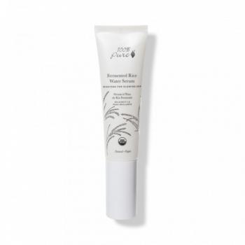 Serum pentru luminozitate cu apa de orez fermentat - 100 Percent Pure Cosmetics