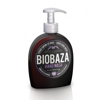 Sapun lichid natural cu vanilie si lavanda, 300 ml - BIOBAZA
