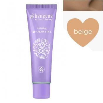 BB Cream bio 8-in-1, Beige (ten inchis) - Benecos