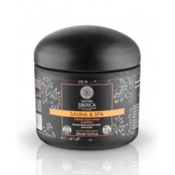 Masca de corp Thermo pentru slabire si fermitate, Sauna & Spa, 370 ml - Natura Siberica…