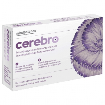 Cerebro Mindbalance, 30 capsule - PHARMNET PLUS