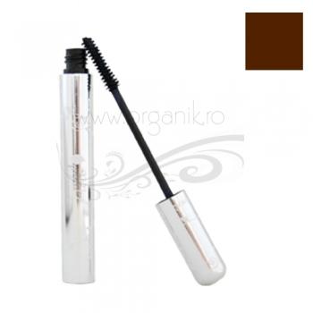 Rimel cu pigmenti din fructe Dark Chocolate (maro inchis) - 100 Percent Pure Cosmetics…