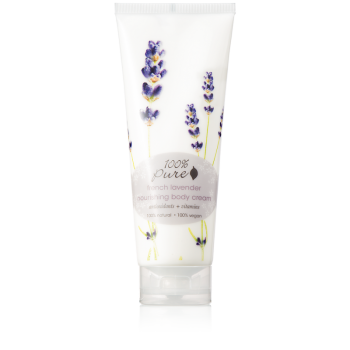 Crema hidratanta pentru corp French Lavender - 100 Percent Pure Cosmetics