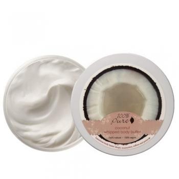 Unt pentru corp cu nuca de cocos - 100 Percent Pure Cosmetics