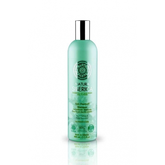 Sampon anti matreata pentru scalp sensibil, cu extract de pelin, 400 ml - Natura Siberica…