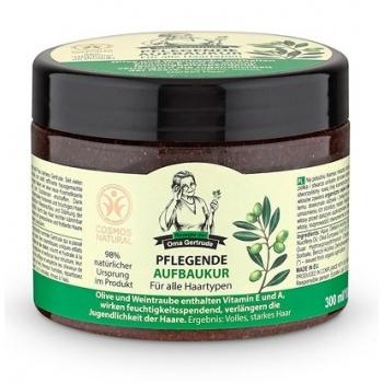 Masca de par nutritiva reparatoare cu ulei de struguri si masline, 300 ml - Oma Gertrude…