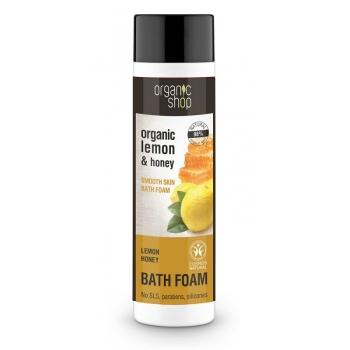 Spumant de baie cu miere si lamaie Lemon Honey, 500 ml - Organic Shop