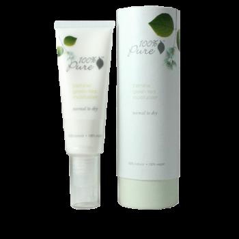 Crema hidratanta cu iasomie si ceai verde, ten normal spre uscat - 100 Percent Pure Cosmetics…