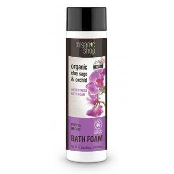 Spumant de baie cu salvie si orhidee Purple Orchid, 500 ml - Organic Shop