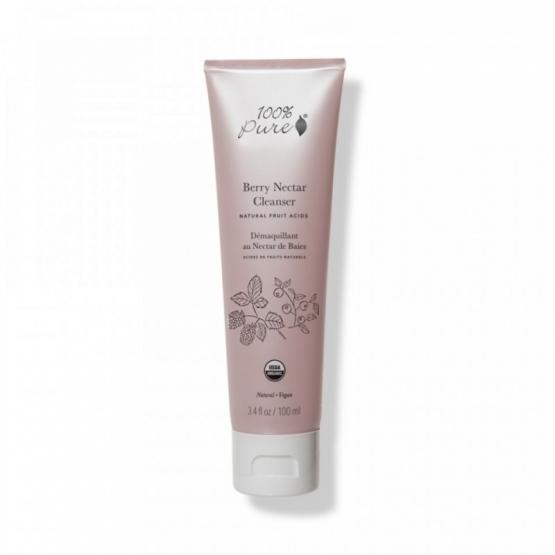 Demachiant cu acizi din fructe Berry Nectar - 100 Percent Pure Cosmetics
