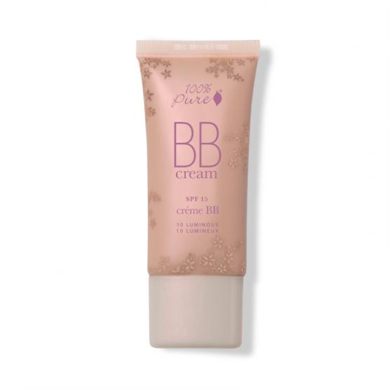 BB Cream cu FPS 15, nuanta Luminous (10) - 100 Percent Pure Cosmetics