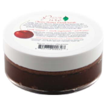 Exfoliant pentru fata cu cirese si miere, toate tipurile de ten - 100 Percent Pure Cosmetics…
