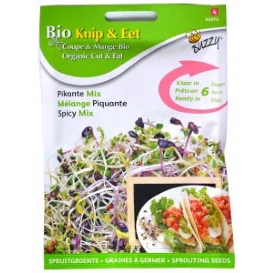 Seminte Mix Picant pentru Germinat Ecologic/BIO