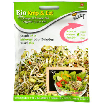 Seminte Mix Salata pentru Germinat Ecologic/BIO