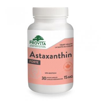 Astaxanthin forte – 15 mg – 30 capsule de origine vegetala