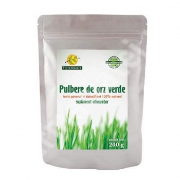 Pulbere de orz verde, 200 g, Phyto Biocare