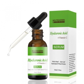 Serum cu 50% Acid Hialuronic, Aloe Vera, Vitamina C si E - Neutriherbs