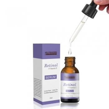 Serum cu Retinol si Vitamina E 100 % Natural - Neutriherbs