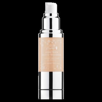 Fond de ten acoperire totala si protectie solara, White Peach - 100 Percent Pure Cosmetics…