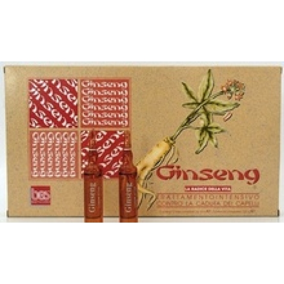 TRATAMENT CONTRA CADERII PAR GINSENG 12fiole - Bes-Beauty&Science