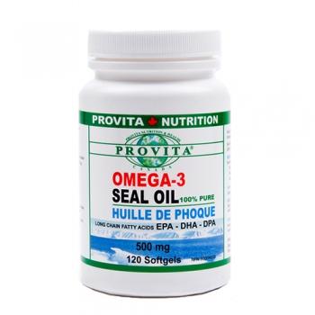 Omega 3 – ulei de foca – 500 mg – 120 capsule moi