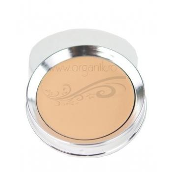 Fond de ten compact Cream Foundation, White Peach - 100 Percent Pure Cosmetics