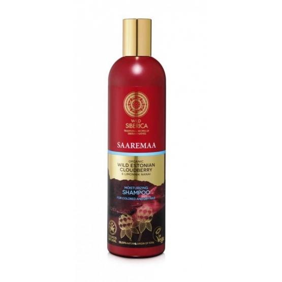 Sampon hidratant pentru par uscat si vopsit cu mur salbatic Saaremaa, 400 ml - Natura…