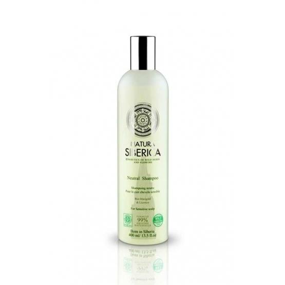 Sampon neutru pentru scalp sensibil cu extract de lemn dulce, 400 ml - Natura Siberica…