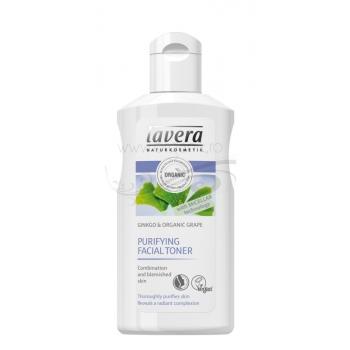 Lotiune tonica purifianta cu tehnologie micelara, pentru ten gras si mixt - LAVERA