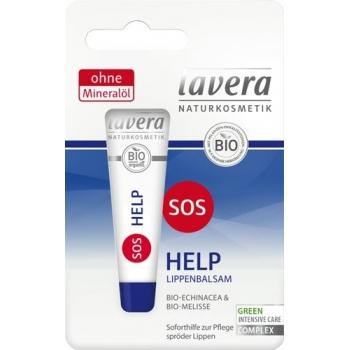 Balsam pentru ingrijirea intensiva a buzelor SOS Help, 8ml - Lavera