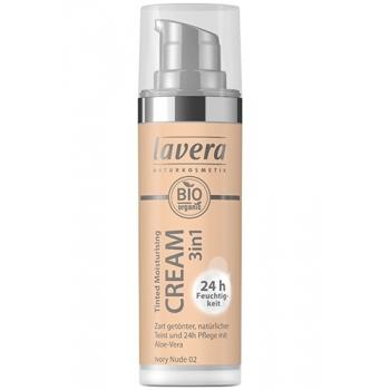 Crema nuantatoare 3-in-1 Ivory Nude 02, 30ml - LAVERA